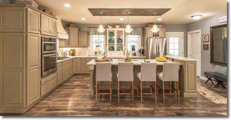 Custom Kitchen Cabinetry - Residential Builders